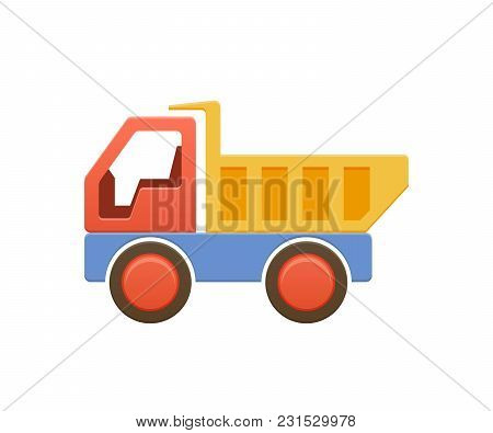 Children S Cartoon Toy Color Plastic Machine, Dump Truck, Machine, Auto. Truck For Transport Of Good