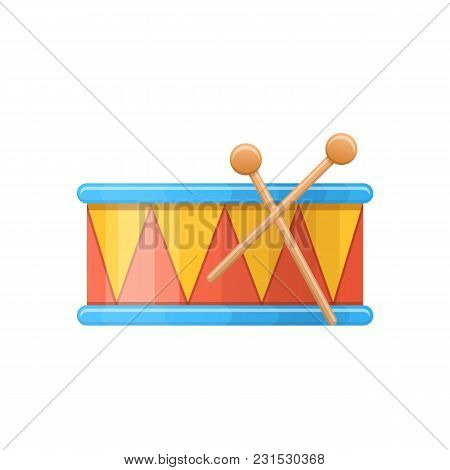 Colorful Children S Drums, Musical Instrument. Children Percussion Musical Instrument For Holidays,