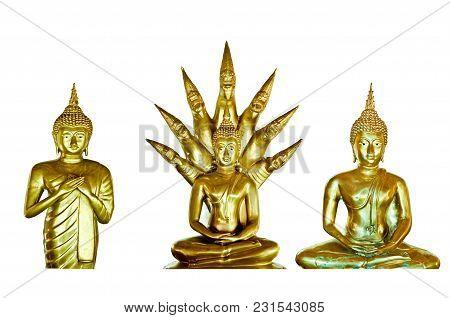 Buddha At Chom Thong Temple In Phayao