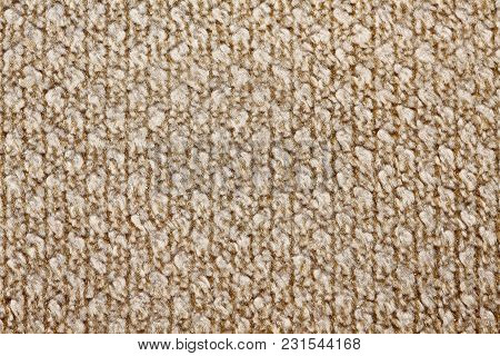 Simple Beige Tissue Background For Your Interior. High Resolution Photo.