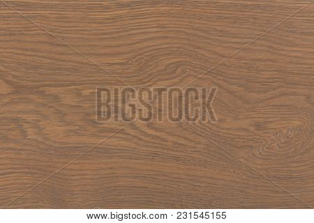 Brown Wood Texture With Natural Pattern. Chopping Board Or Floor Surface. Hi Res Photo.