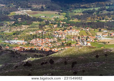 Province Landscape Of A Portugal Mountain Region