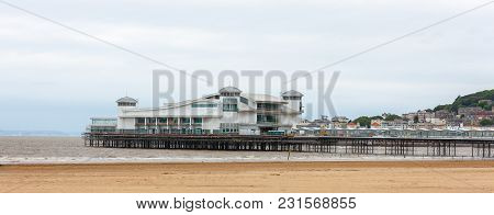Grand Pier At Beachline, Weston-super-mare, Somerset, England