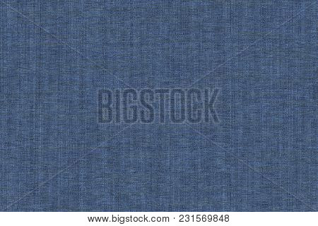 Fabric Surface For Book Cover, Linen Design Element, Texture Grunge Navy Peony Color Painted.