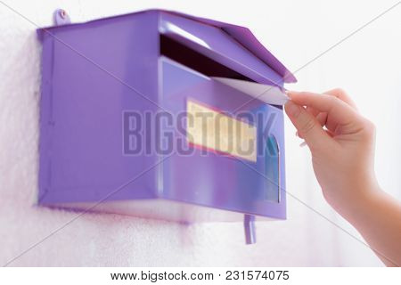 Purple Comment Box Is In Public To Express Ideas.