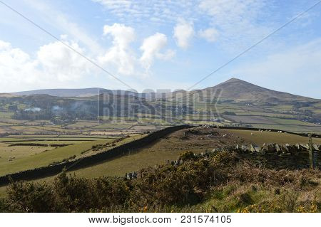 View Of North Barrule And Snaefell, Isle Of Man