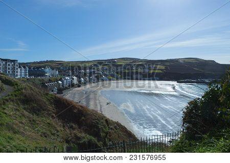 Port Erin Beach In The Isle Of Man