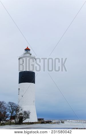 Winter By The Lighthouse Lange Jan At Ottenby On The Swedish Island Oland In The Baltic Sea