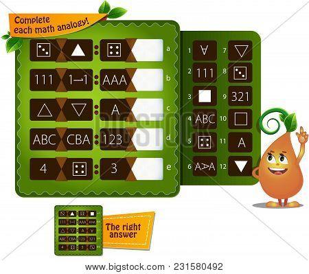 Shape Math Analogy A