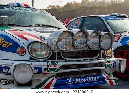 Sanmarino, Sanmarino - Ott 21, 2017 : Toyota Corolla Wrc 1998 In Old Racing Car Rally The Legend 201