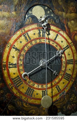 The Ancient Dusty Clocks From Renaissance Epoch