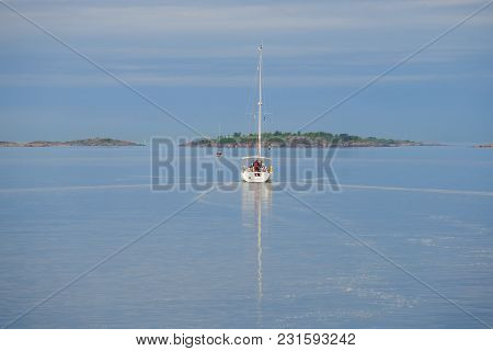 Morning In The Gulf Of Finland. Hanko, Finland