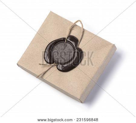 Cardboard Box With Wax