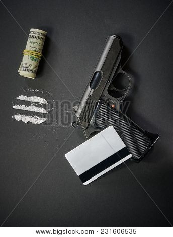 The Gun, Drugs, Credit Card And Money