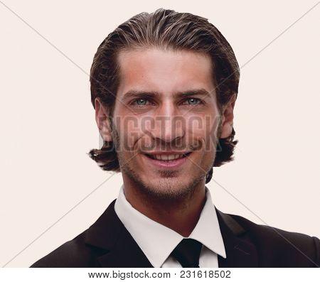 portrait of responsible business men