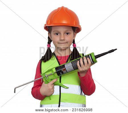 Little Girl Industrial Worker