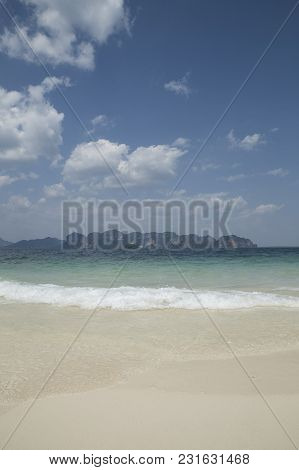 Beautiful Sea Summer Or Spring Abstract Background
