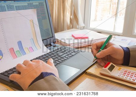The Calculators, Business Owners, Accounting And Technology, Business, Computer, Laptop, Calculator