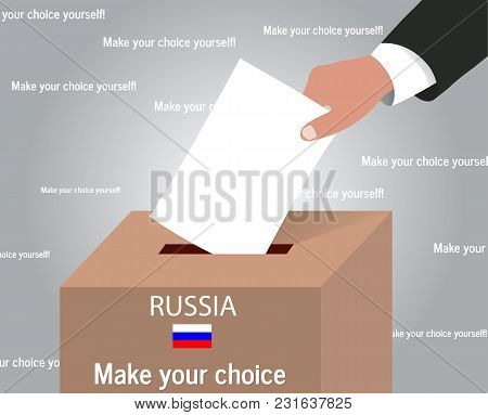 Russia Russian Presidential Election, The Concept Of The Ballot Box
