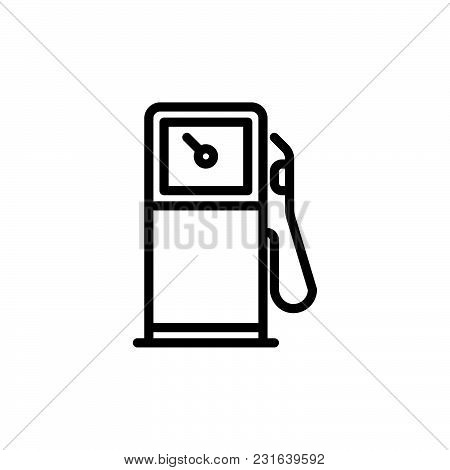 Gas Station Icon Vector Photo Free Trial Bigstock