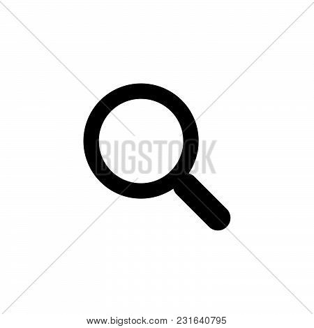 Search Icon Isolated On White Background. Search Icon Modern Symbol For Graphic And Web Design. Sear