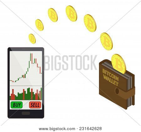 Transfer Bitcoin Coins In The  Electronic Wallet, Buying And Transfer Of Bitcoins To  Electronic Wal