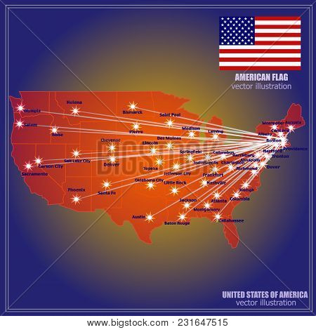 United States America Vector & Photo (Free Trial) | Bigstock