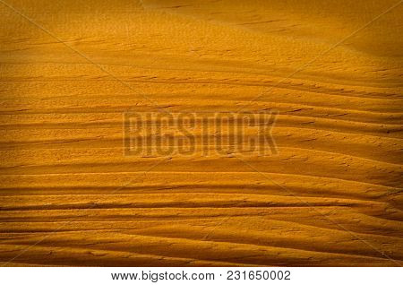 A Wooden Background With A Vignette Frame