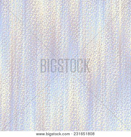 Irregular Random Pattern Of Small Dots. Vector Image.