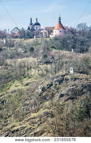 Monastery, Church Of St. Hippolytus And St. Anthony Church, Znojmo, Southern Moravia, Czech Republic