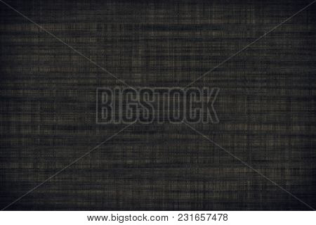 Fabric Surface For Book Cover, Linen Design Element, Texture Grunge Vetiver Color Painted.