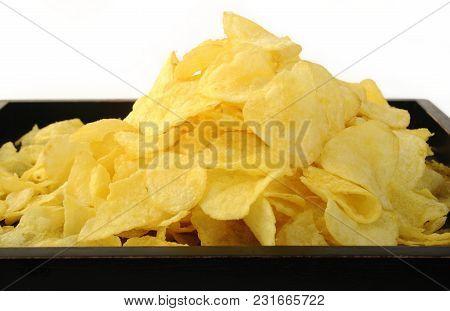 Crispy Potato Chips Snack Food In Box