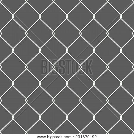Rusty Chain Link Wire Mesh Fence Wire Fence Texture Background Black And White Texture