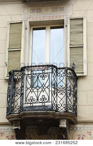 A Balcony In An European House