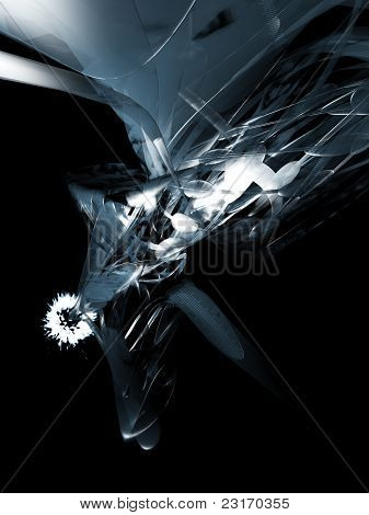 Abstract artistic design
