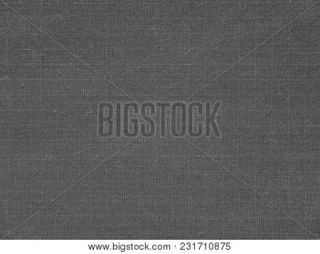 Dark gray cotton polyester active outerwear fabric texture swatch poster