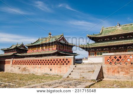 Karakorum, Erdene Zuu Monastery, Unesco World Heritage. Mongolia, Ovorkhangai Province