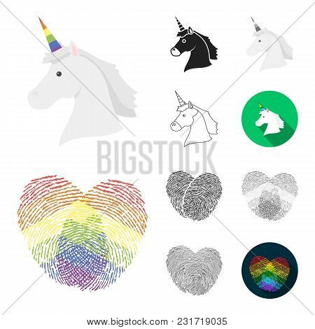 Gay And Lesbian Cartoon, Black, Flat, Monochrome, Outline Icons In Set Collection For Design.sexual