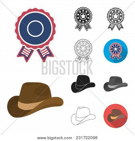 Day Of Patriot, Holiday Cartoon, Black, Flat, Monochrome, Outline Icons In Set Collection For Design