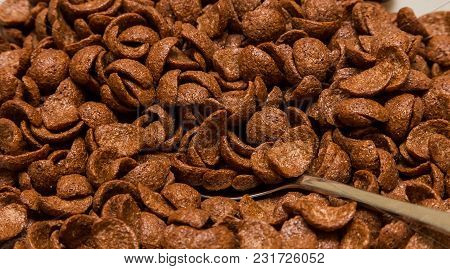 Chocolate Breakfast Cereal At Brunch Spring Festival Picnic Event