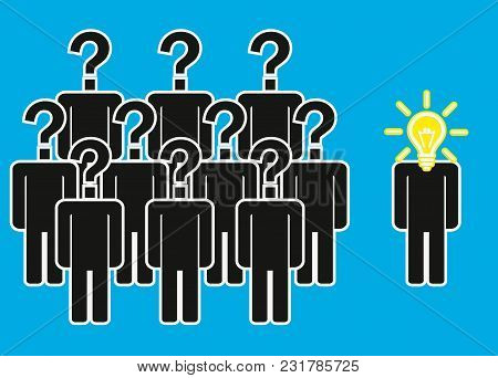 Think Differently - Being Different, Move For Success In Life - Flying Out From The Crowd By Light B