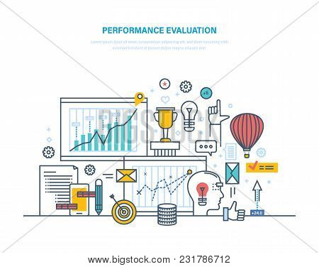 Performance Evaluation Working, Quality Control, Performance Productive, Analysis Of Results, Planni