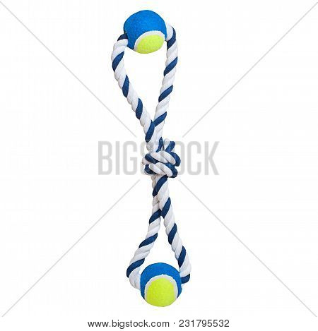 Pet Toy On Isolated White Background Close Uo