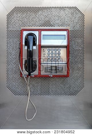 Public Pay Phone Communication Telephone For Cards