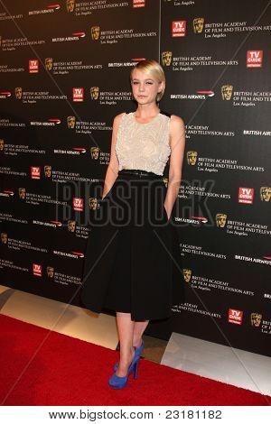 LOS ANGELES - NOV 4: Carey Mulligan at the 18th annual BAFTA Los Angeles Britannia Awards held at the Hyatt Regency Century Plaza Hotel on November 4, 2010 in Los Angeles, California