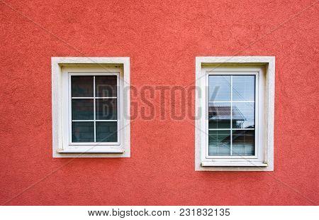 Plastic Windows And Facade, Pvc Or Upvc Window