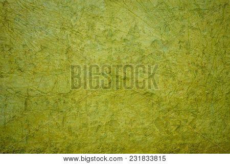 Green Concrete Grunge Wall