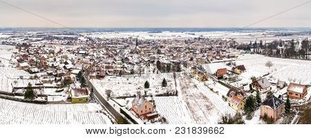 Panorama Of Kintzheim, A Village In Bas-rhin - Alsace, France