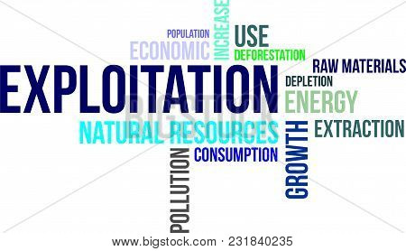 A Word Cloud Of Exploitation Related Items