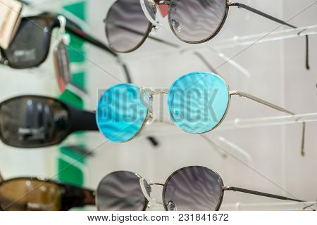 Eye Glasses On The Stand